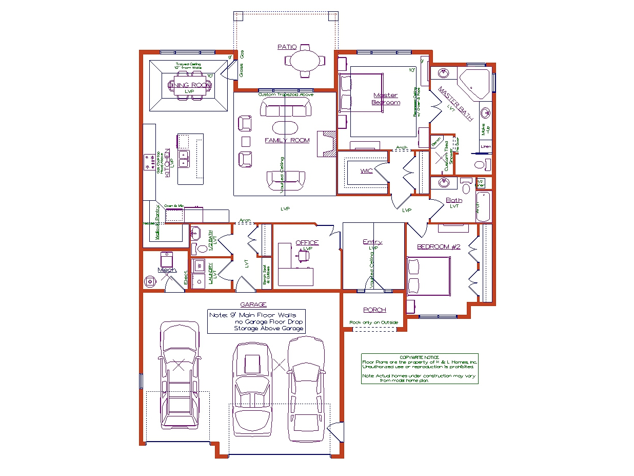 2 Bedroom Captiva Plan