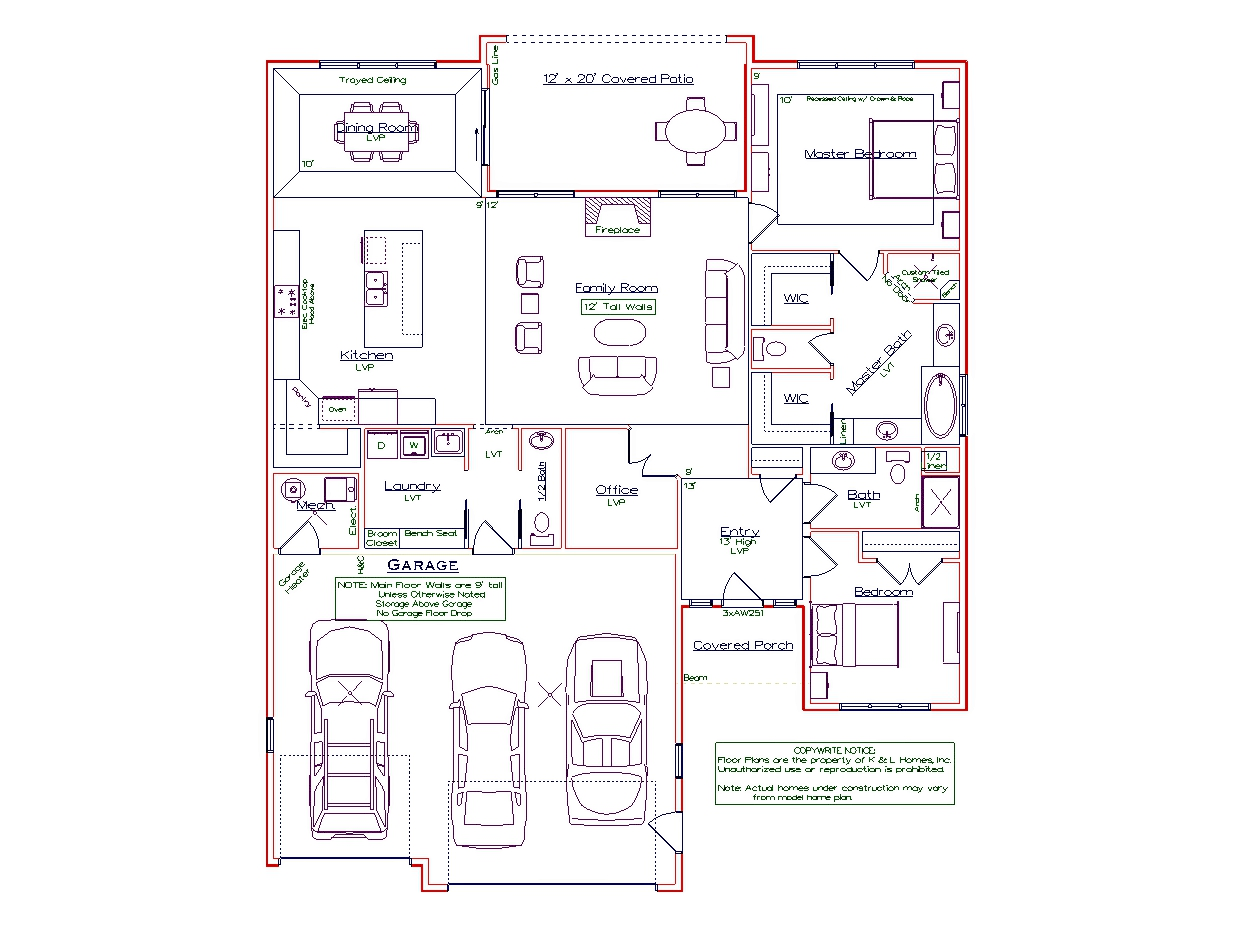 2 Bedroom Marco Plan